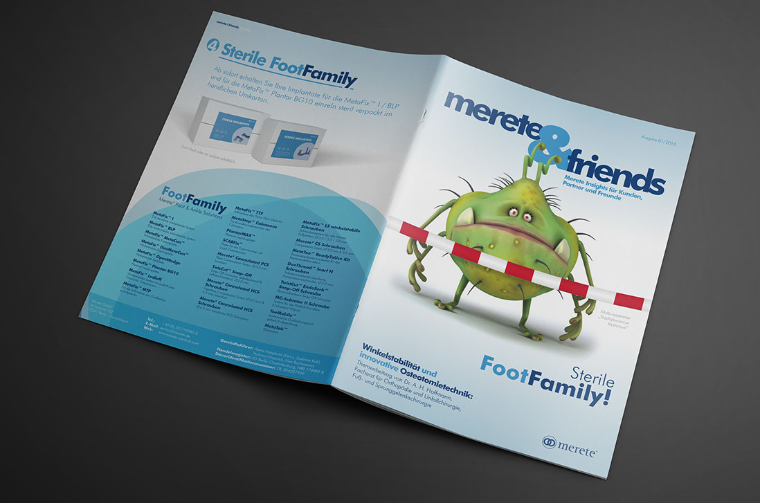 """Magazin """"merete&friends"""" Ausgabe 01/2016"""