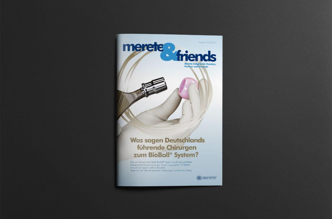merete&friends Ausgabe 02 DEZ 2016 Cover