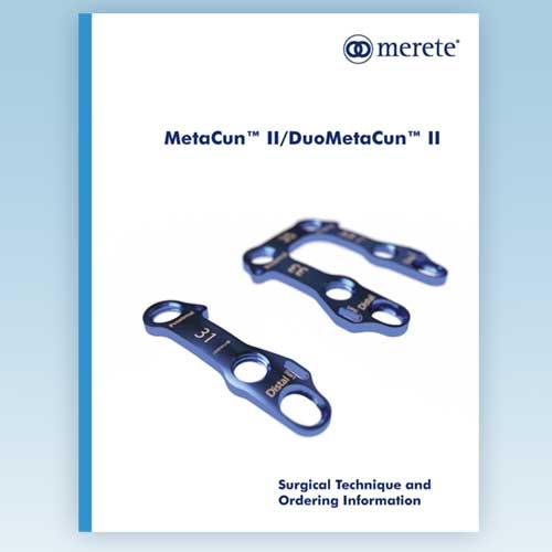 Merete MetaCun™ II and DuoMetaCun™ II Plates